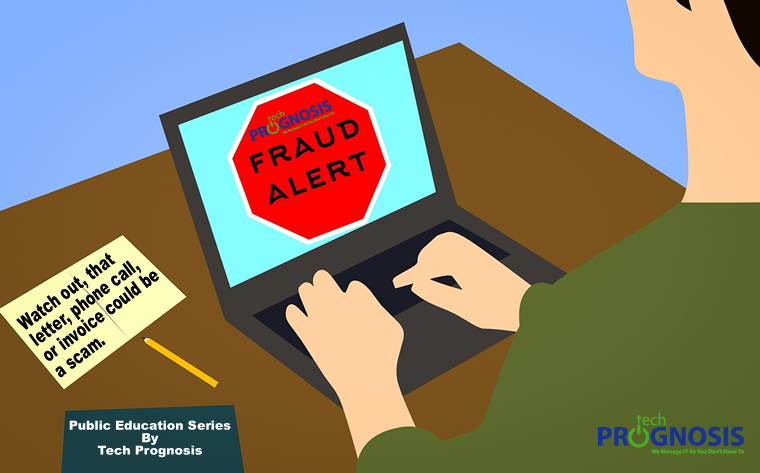 Preventing Business Scams Image by Tech Prognosis
